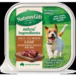 Photo of Natures Gift Gourmet Kangaroo Fillet Recipe 100g