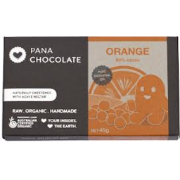 Photo of Pana Raw Cacao Orange Choc 45g