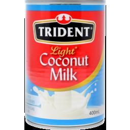 Photo of Trident Coconut Milk Light 400ml