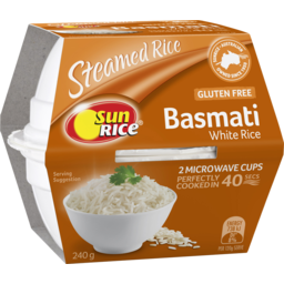 Photo of Sunrice Quick Cups X2 Aromatic Basmati Rice 250g