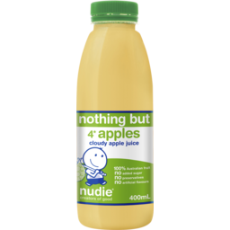Photo of Nudie Nothing But Cloudy Apple Juice 400ml