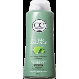 Photo of Oc Naturals Normal Balance Shampoo With Organic Aloe Vera & Ginseng 725ml