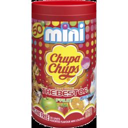 Photo of Chupa Chups The Best Of Lollipops Mini Tube 50u 300g