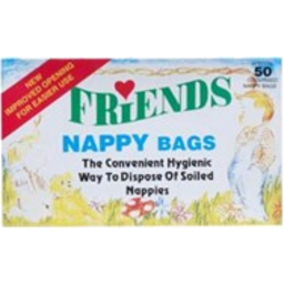 Photo of Friends Nappy Bags 50 Pack