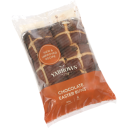 Photo of Yarrows Frozen Par Baked Buns Easter Chocolate 6 Pk 360g