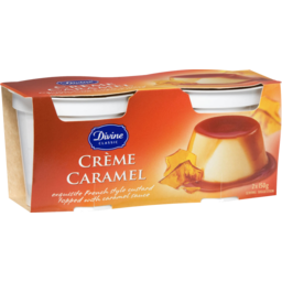 Photo of Divine Classic Creme Caramel 2x150gm