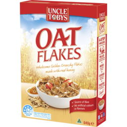 Photo of Uncle Tobys Oat Flakes 640g