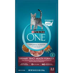 Photo of Purina One Urinary Tract Health Formula Pet Food 1.59kg