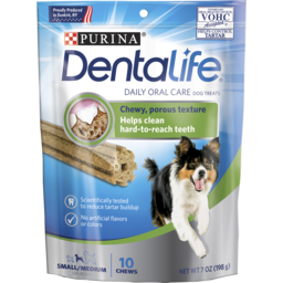 Photo of Purina Dentalife Daily Oral Care Small/Medium Dog Treats 198g