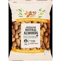 Photo of JC's Almonds Natural Australian 150g