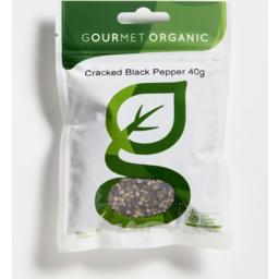 Photo of Gourmet Organic Pepper Black Cracked