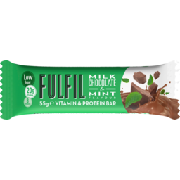 Photo of Fulfil Protein Bar Milk Chocolate & Mint 55g 55g