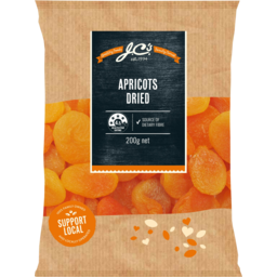 Photo of Jc's Dried Apricots 200g