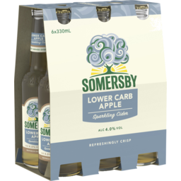 Photo of Somersby Lower Carb Cider Bottles