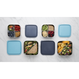 Photo of Naturally Sustainable - Rectangle Lunch Box with Divider Medium