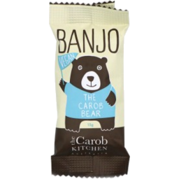 Photo of THE CAROB KITCHEN The Craob Kitchen Banjo Bear Vegan 15g