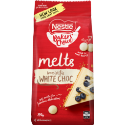 Photo of Nestle Choc Melts White 290g
