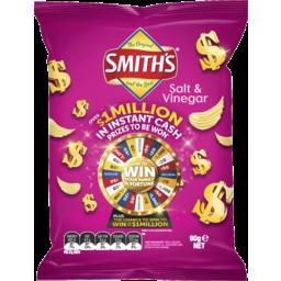 Photo of Smiths Chips Crinkle Salt & Vinegar (90g)