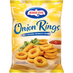 Photo of Birds Eye Onion Rings In A Golden Crunchy Crumb 500g