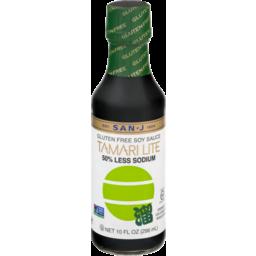 Photo of San-J Gluten Free Soy Sauce Tamari Lite