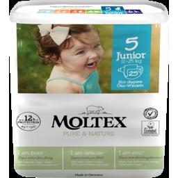 Photo of Moltex Nappies - Disposable Junior - No 5 (11 - 25kg)