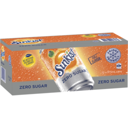 Photo of Sunkist Zero Sugar 10x375ml