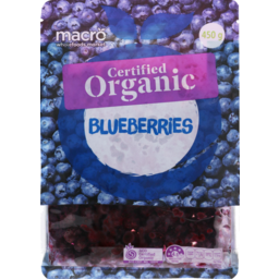 Photo of Macro Organic Frozen Blueberries 450g