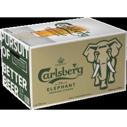 Photo of Carlsberg Elephant Bottles