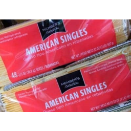Photo of Member's Selection American Cheese Singles