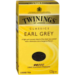 Photo of Twinings Earl Grey Tea 125g