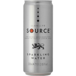 Photo of Llanllyr Source Sparkling Water Can 330ml