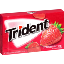 Photo of Trident Strawberry Twist