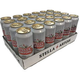 Photo of Stella Artois Imported Cans