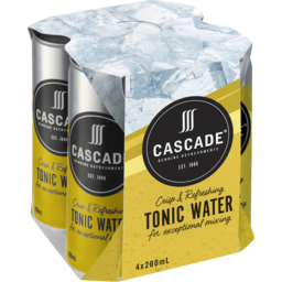 Photo of Cascade Tonic Water Cans
