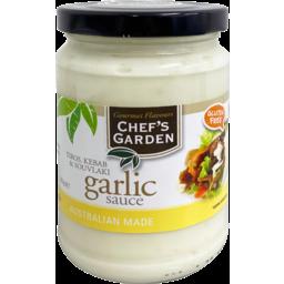 Photo of Chefs Garden Garlic Sauce 300g