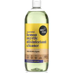 Photo of Simply Clean Disinfectant Cleaner - Lemon Myrtle