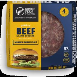 Photo of Silver Fern Farms Burger Beef Manuka Smoked Salt 500g