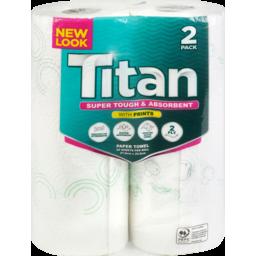 Photo of Select Titan Paper Towels Print 2 Pack