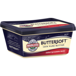 Photo of Mainland Buttersoft Salted Spreadable Butter 375g