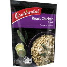 Photo of Continental Gourmet Risotto Roast Chicken & Leek 115g Serves 2