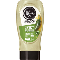Photo of One Night In Mexico - Spicy Jalapeno Taco Sauce 250ml