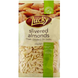 Photo of Lucky Slivered Almonds 230gm