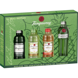 Photo of Tanqueray Multipack 4 X 50ml Giftpack