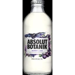 Photo of Absolut Botanik Berry & Lime Bottles