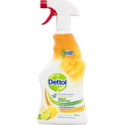 Photo of Dettol Healthy Clean Multipurpose Cleaner Trigger Spray Lemon Burst 500ml