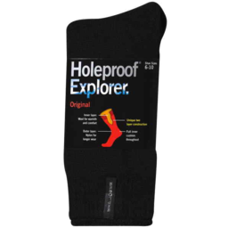 Photo of S1138 Holeproof Explorer Mens Socks
