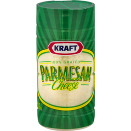 Photo of Kraft Grated Parmesan Cheese