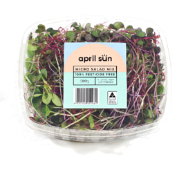 Photo of April Sun Micro Salad Mix 100gm