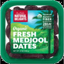 Photo of Fresh Organic Medjool Dates 227gm