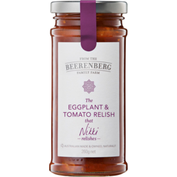 Photo of B/Berg Relish E/Pl&Tom 260gm